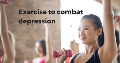 Exercise to combat depression