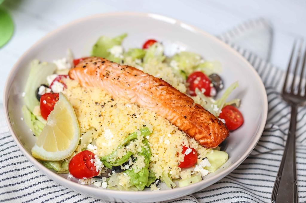 Salmon & Couscous Salad